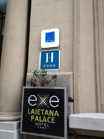 Hotel Exe Laietana Palace: nice