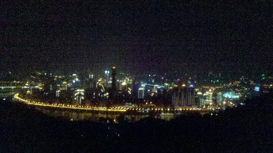 Chongqing South Mountain: view
