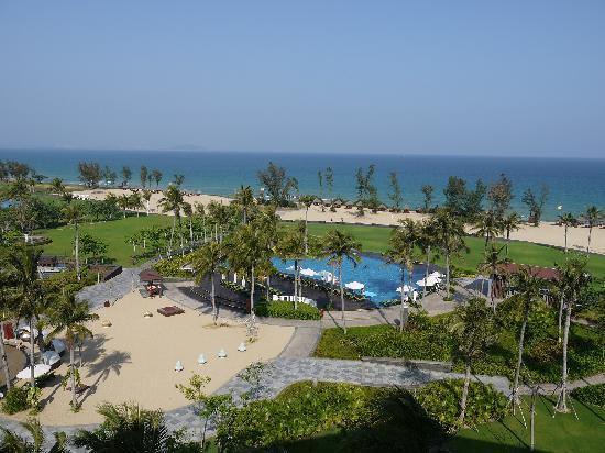 Doubletree Resort by Hilton Hotel Sanya Haitang Bay: 三亚海棠湾万达希尔顿逸林度假酒店阳台景观