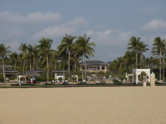 Conrad Sanya Haitang Bay: 三亚海棠湾康莱德酒店沙滩