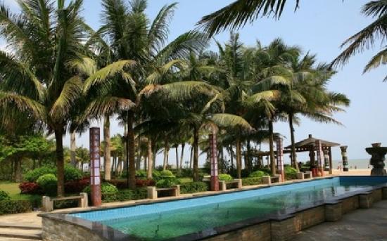 Baijin Holiday Hotel : 白金海岸酒店内景
