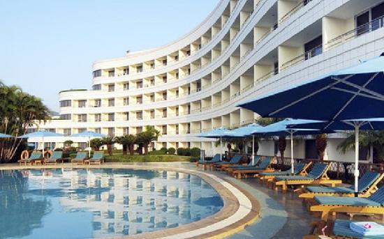 Sanya Pearl River Garden Hotel: 珠江花园酒店游泳池