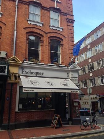 Exterior of The Exchequer