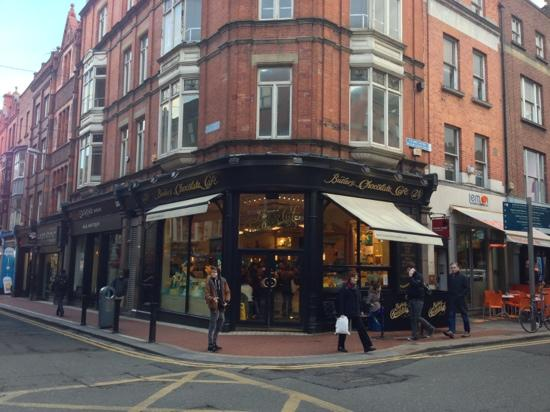 Butlers Chocolate Café, Grafton Street: Exterior of the shop