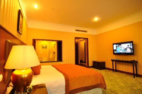 Noble Resort Suzhou: 湖景豪华大床房