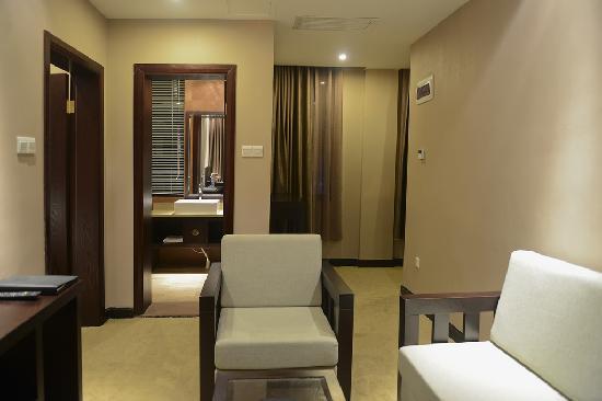 Han Tang Xin Ge Hotel : 豪华家庭套房