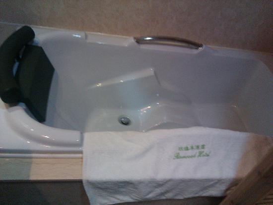 Rosewood Hotel: 浴缸