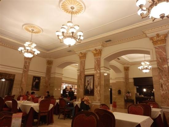 Ma Die Er Western Restaurant: 西餐厅内