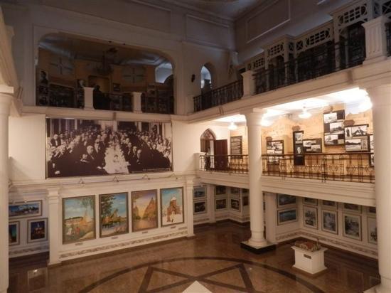 Architectural Museum: 艺术馆内景
