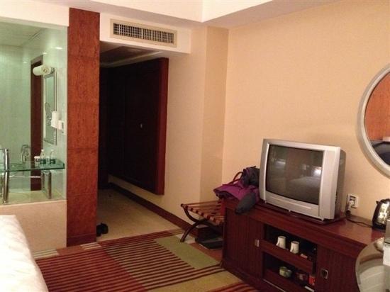 Huarui Danfeng Jianguo Hotel: 房间内