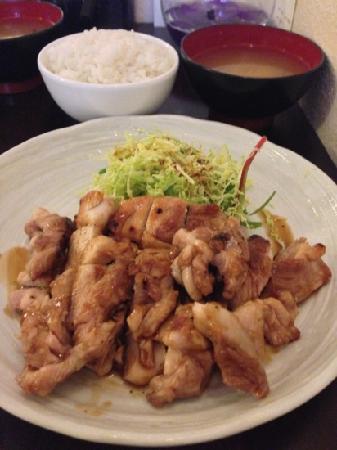 Hazuki Japanese Restaurant: Chicken Tarayaki