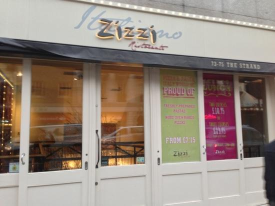 Zizzi - The Strand: Restaurant Exterior