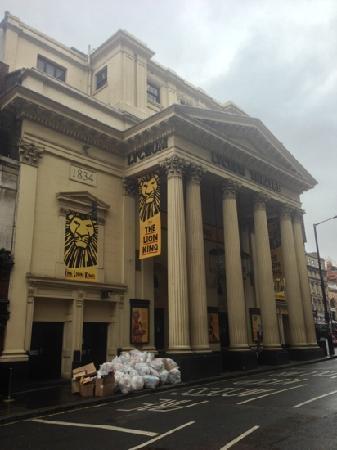 Italian Restaurants Near Lyceum Theatre London
