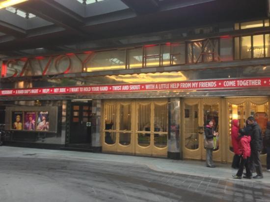 Savoy Tup: Savoy Theatre