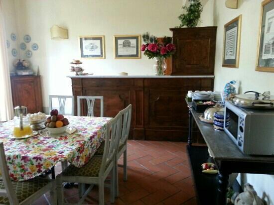 Relais Cavalcanti: 餐室