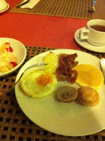 Chiang Mai Plaza Hotel: 自助早餐