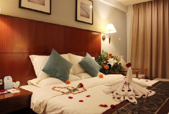 Hua Xin Seaview Hotel : 豪华蜜月房