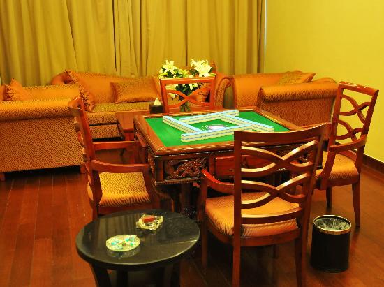 Dingli International Hotel: 棋牌室