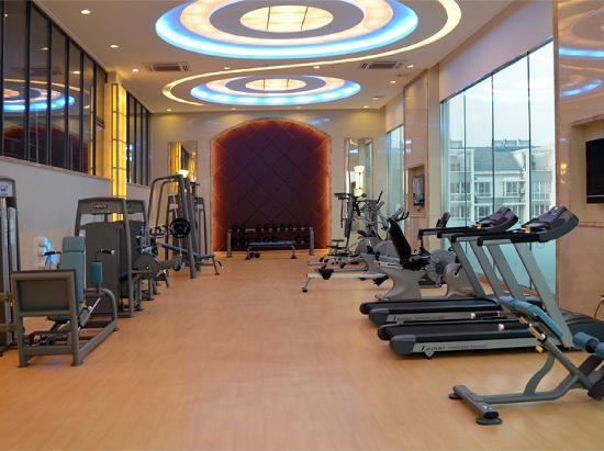 Dingli International Hotel: 健身房