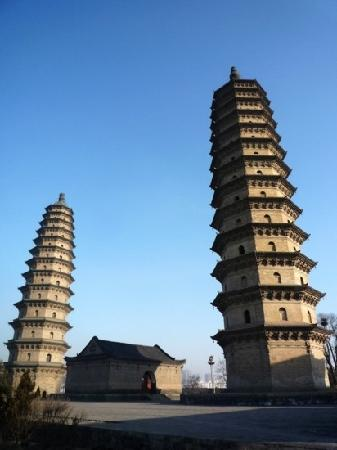 Twin Pagoda Temple (Shuangta si): 双塔寺