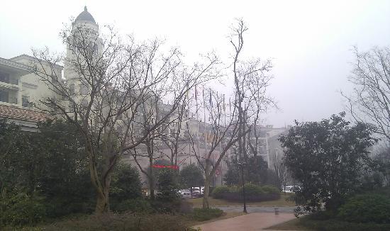 Changshou Country Garden Phoenix Hotel Chongqing: 正门及门前园林