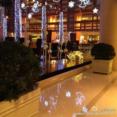 The Westin Bund Center Shanghai : 厅