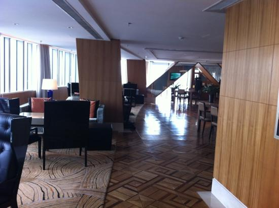 Marriott Hotel City Centre: 酒廊