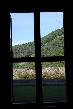 Moganshan Shambhala Residential Retreat: 门口的景色