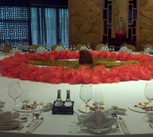 Beishan Hotel: 桌子