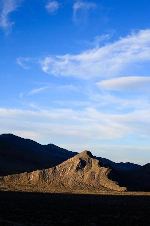 Desierto de California, CA: Strips Butte