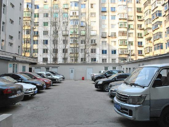 Jinjiang Inn Shenyang Wu'ai: 停车场