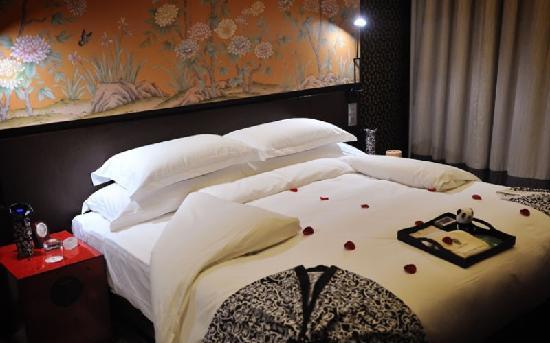 Banyan Tree Hangzhou: 杭州悦榕庄铺的夜床
