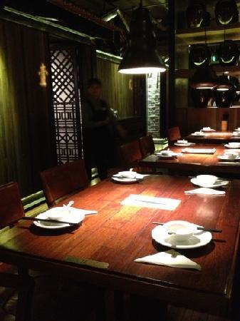 Grandma's Home (HangZhou Mansion): 餐厅布置