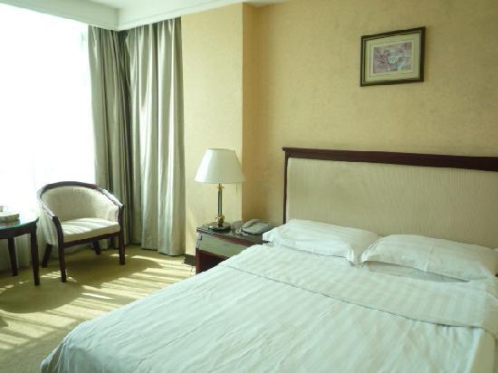 Home Inn Shaoguan Wujiangqiao Zhongshan Park: 豪华单人江景房