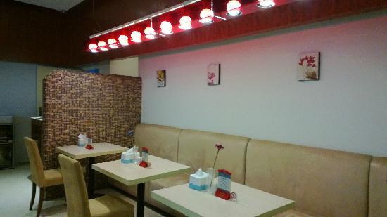 Jinjiang Inn Chongqing Yangjiaping Light Rail Station Wanxiangcheng: 餐厅