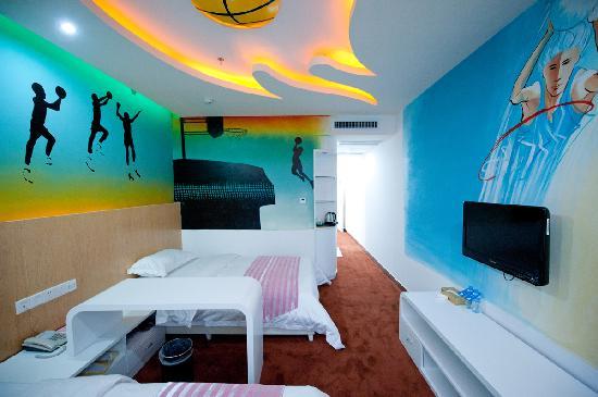 Feetel Theme International Inn (Changsha Yinpeng): 浪漫套房
