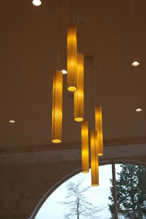 Fujisan garden hotel: 大堂顶灯