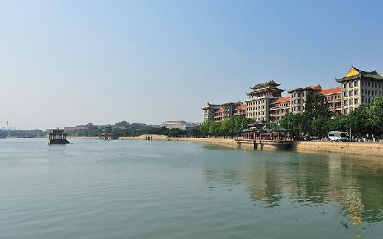 Xiamen Dragon Boat Pond: 龙舟池