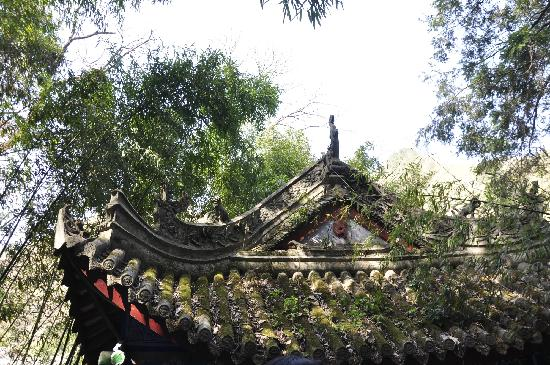 Hanzhong Zibai Mountain: 庙
