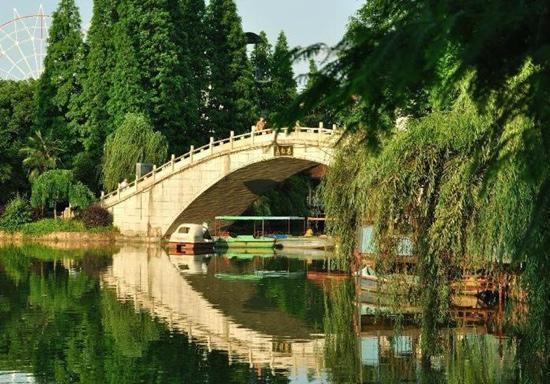 Xihu Park of Hengyang: 衡阳西湖公园