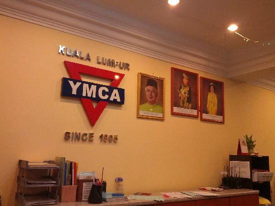 YMCA Hostel: 大堂