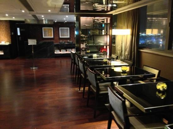 Hong Kong SkyCity Marriott Hotel: 行政酒廊