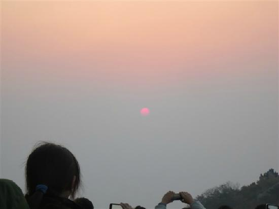Taishan Geological Park : 日出之时