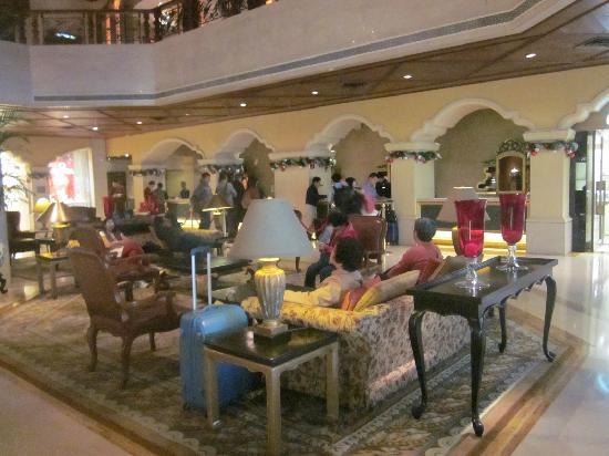 Grand Lapa Macau: 大堂休息区