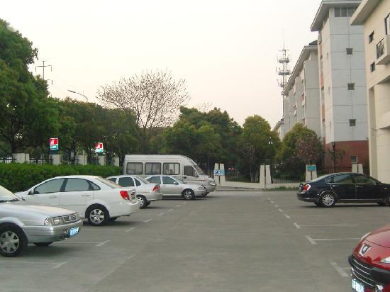 Jinjiang Inn (Suzhou Amusement Park) : 停车场