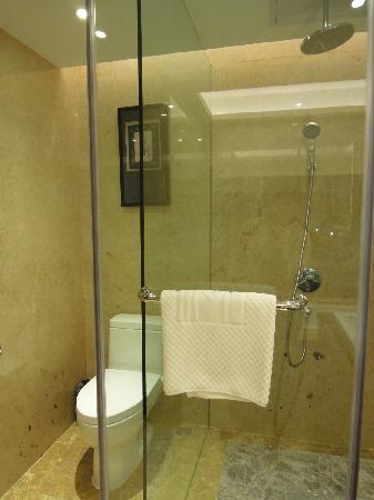 Maoming International Hotel: 淋浴处(茂名国际大酒店)