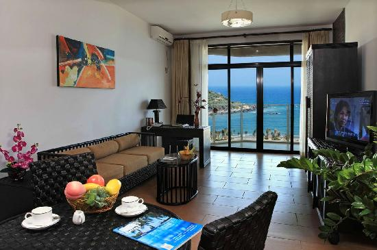 Kongkan suntreebay Jindi Resort Hotel: 打开落地窗就可以享受大海