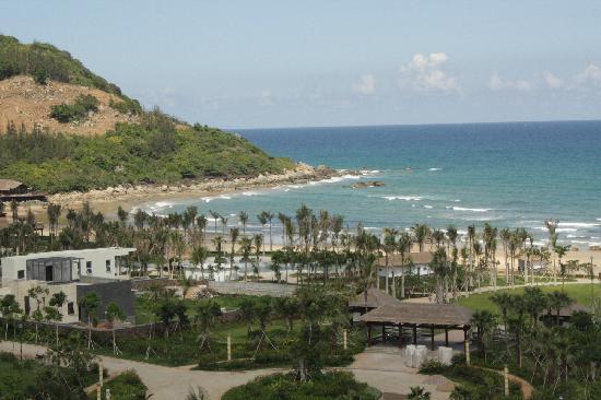 Kongkan suntreebay Jindi Resort Hotel: 从阳台俯瞰大海