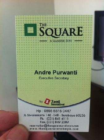 The Square Apartments & Arcade: 房卡