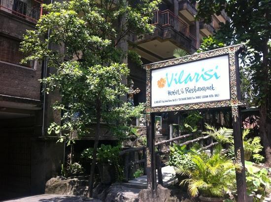 Vilarisi Hotel: 指示牌